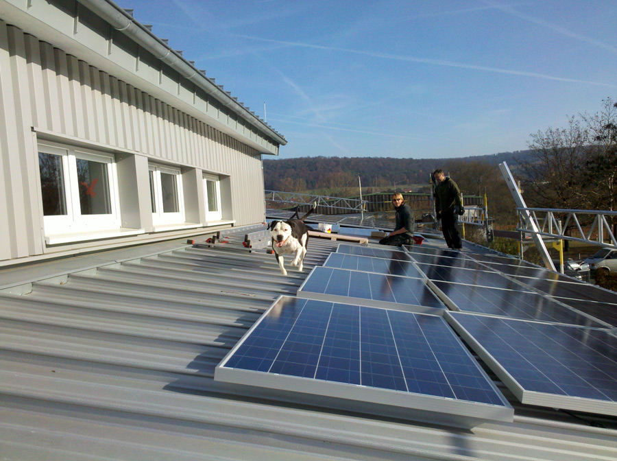 28 kW in Breuberg System Schletter SOLO